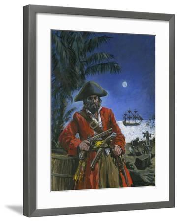 Captain Kidd-Graham Coton-Framed Giclee Print