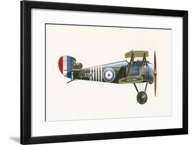 Sopwith 7F 1 Snipe-English School-Framed Giclee Print