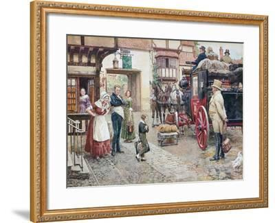 David Copperfield Goes to School-Fortunino Matania-Framed Giclee Print