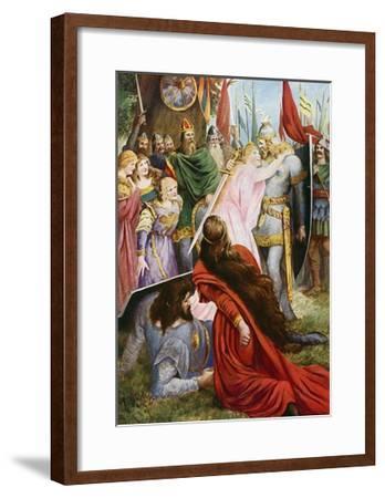 Lohengrin, Act I Scene III-Fred Leeke-Framed Giclee Print