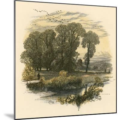 Sabbath Bells-Miles Birkett Foster-Mounted Giclee Print