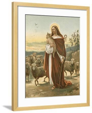 The Good Shepherd-John Lawson-Framed Giclee Print
