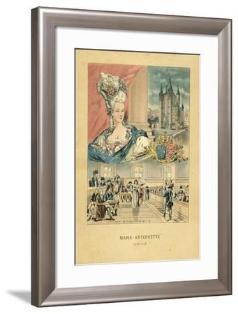 Marie Antoinette-French School-Framed Giclee Print