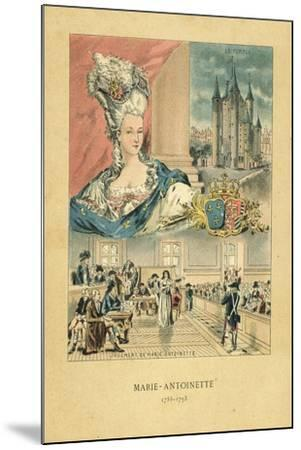 Marie Antoinette-French School-Mounted Giclee Print