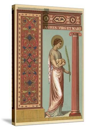 St Agnes-English School-Stretched Canvas Print