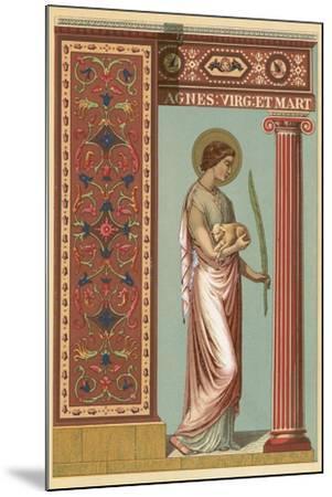 St Agnes-English School-Mounted Giclee Print
