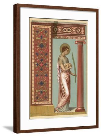 St Agnes-English School-Framed Giclee Print