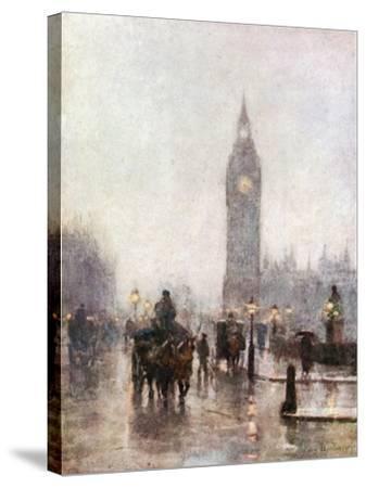 Westminster-Rose Maynard Barton-Stretched Canvas Print