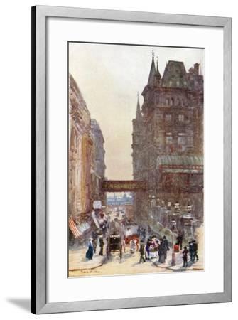 Villiers Street, Charing Cross-Rose Maynard Barton-Framed Giclee Print