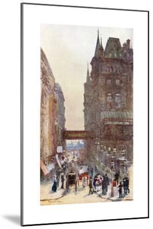 Villiers Street, Charing Cross-Rose Maynard Barton-Mounted Giclee Print