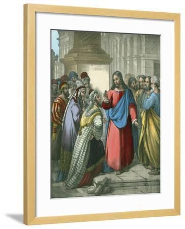 The Tribute Money-Siegfried Detler Bendixen-Framed Giclee Print