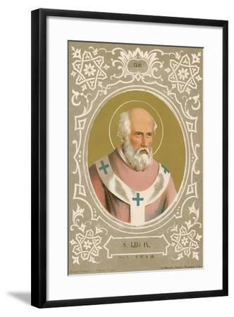 S Leo IX-European School-Framed Giclee Print