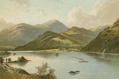 Ullswater-English School-Framed Giclee Print