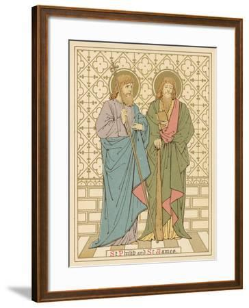 St Philip and St James-English School-Framed Giclee Print