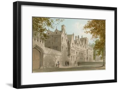 St. John's College - Oxford-English School-Framed Giclee Print