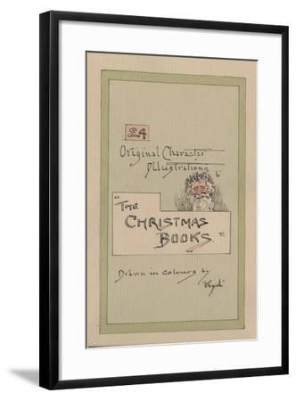 Title Page, c.1920s-Joseph Clayton Clarke-Framed Giclee Print