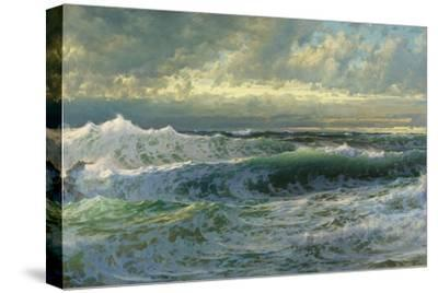 After a Gale, 1903-William Trost Richards-Stretched Canvas Print