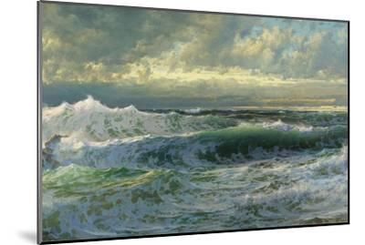 After a Gale, 1903-William Trost Richards-Mounted Giclee Print