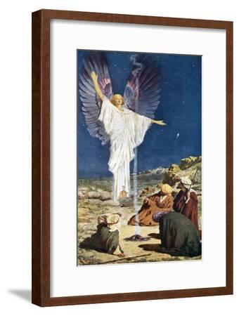 The First Noel-William Henry Margetson-Framed Giclee Print