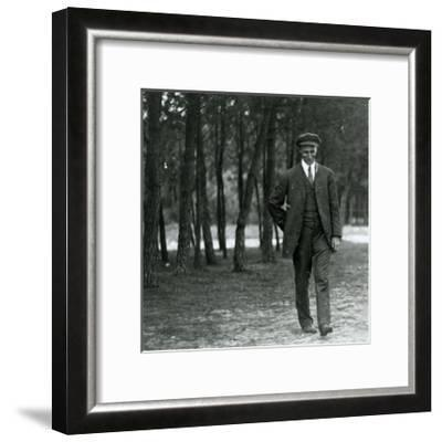 Wilbur Wright in France, 1909--Framed Photographic Print