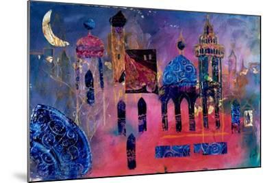 Arabian Fantasy, 2012-Margaret Coxall-Mounted Giclee Print