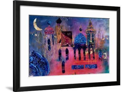 Arabian Fantasy, 2012-Margaret Coxall-Framed Giclee Print