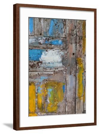 Old Door, Havana, Cuba--Framed Photographic Print