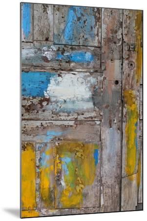Old Door, Havana, Cuba--Mounted Photographic Print