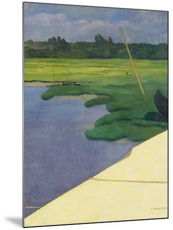 Quai de Berville, 1918-F?lix Vallotton-Mounted Giclee Print