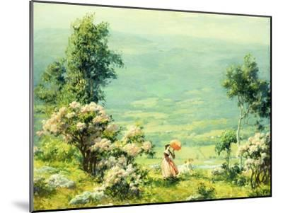 Pink Parasol, 1927-Charles Courtney Curran-Mounted Giclee Print
