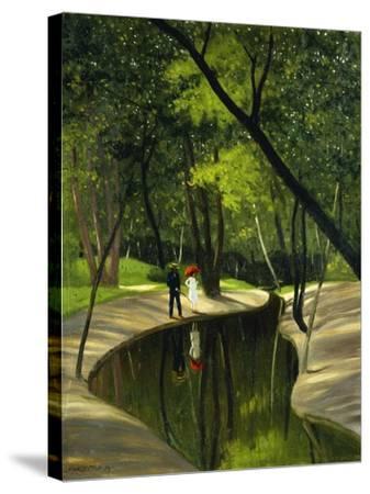 Paysage Du Boulogne, 1919-F?lix Vallotton-Stretched Canvas Print