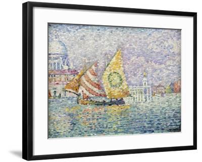 Bragozzo, Venice, 1905-Paul Signac-Framed Giclee Print
