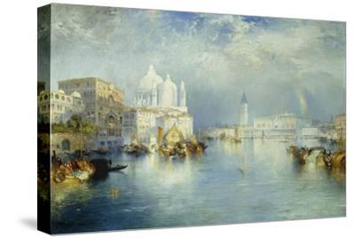 Grand Canal, Venice, 1903-Thomas Moran-Stretched Canvas Print