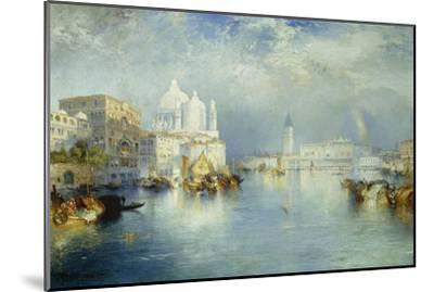 Grand Canal, Venice, 1903-Thomas Moran-Mounted Giclee Print