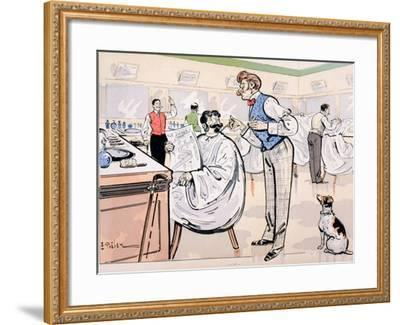 At the Barber and Reading 'Le Jockey', c.1905-E. Thelem-Framed Giclee Print