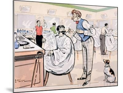 At the Barber and Reading 'Le Jockey', c.1905-E. Thelem-Mounted Giclee Print