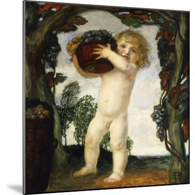 Boy with Grapes; Knabe Mit Trauben, 1903-Franz von Stuck-Mounted Giclee Print