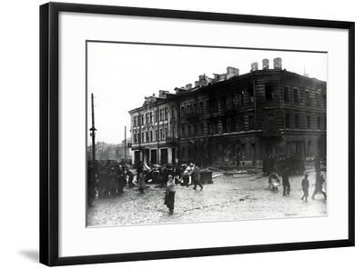 The Kronstadt Revolt, 1921-Russian Photographer-Framed Photographic Print