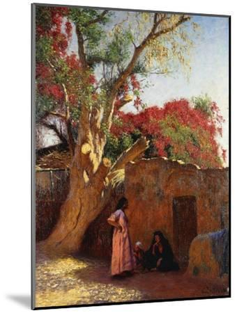 An Arab Family Outside a Village, 1917-Ludwig Deutsch-Mounted Giclee Print