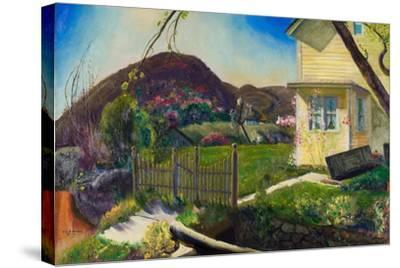 The Picket Fence, 1924-George Wesley Bellows-Stretched Canvas Print