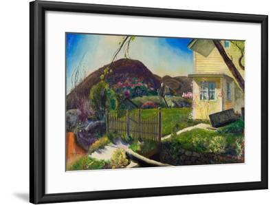 The Picket Fence, 1924-George Wesley Bellows-Framed Giclee Print