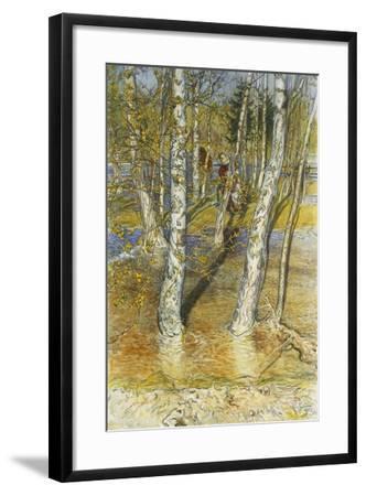 Springflood, 1902-Carl Larsson-Framed Giclee Print