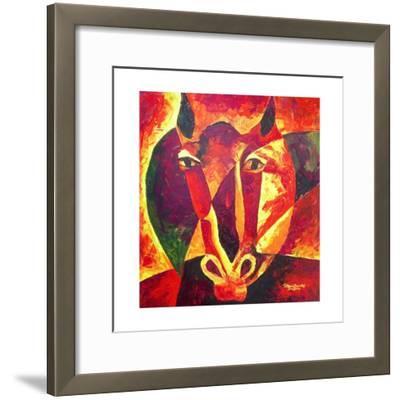 Equus Reborn, 2009-Patricia Brintle-Framed Giclee Print