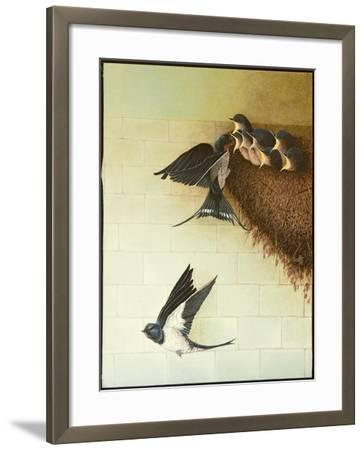 Hungry Mouths, 2011-Pat Scott-Framed Giclee Print