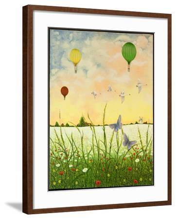 High Flyers, 2011-Pat Scott-Framed Giclee Print