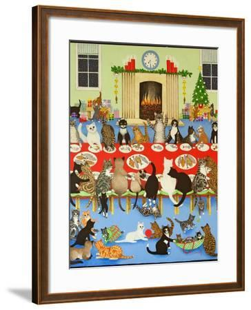 Getting Together, 2012-Pat Scott-Framed Giclee Print