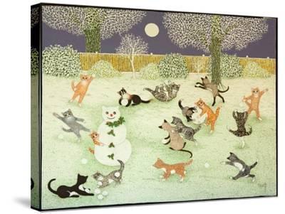 Barn Storming, 2011-Pat Scott-Stretched Canvas Print