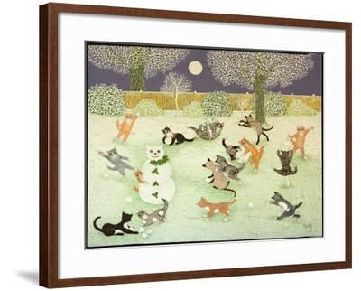 Barn Storming, 2011-Pat Scott-Framed Giclee Print
