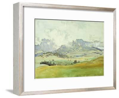 In the Dolomites, 1914-John Singer Sargent-Framed Giclee Print