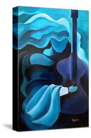 I Hear Music in the Air, 2010-Patricia Brintle-Stretched Canvas Print